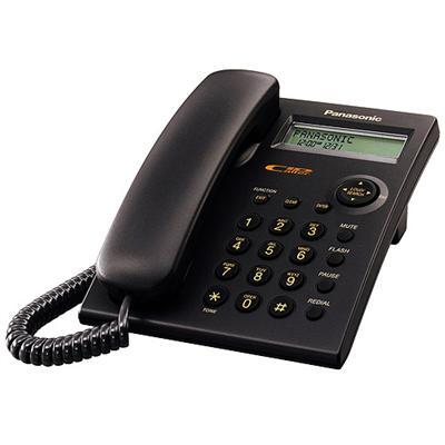 Panasonic Kx Tsc11b - Corded Phone W/ Call Waiting Caller