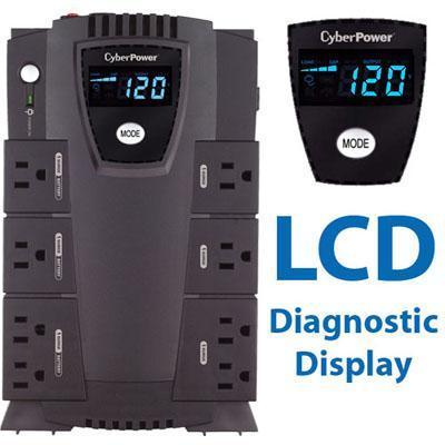 Cyberpower Cp825lcd - Ups 450 Watt 825 Va