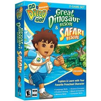 Nova Development Go Diego Go! Great Dinosaur Rescue & Safari