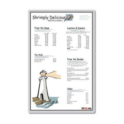 Fellowes Glossy Pouches - Menu 3 Mil 25 Pack