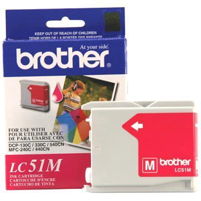 Brother Lc51m - Print Cartridge Magenta