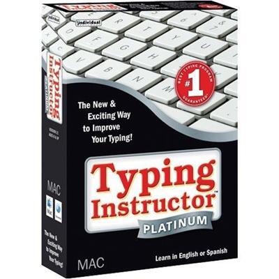 Individual Software Typing Instructor Platinum English Or Spanish - Mac