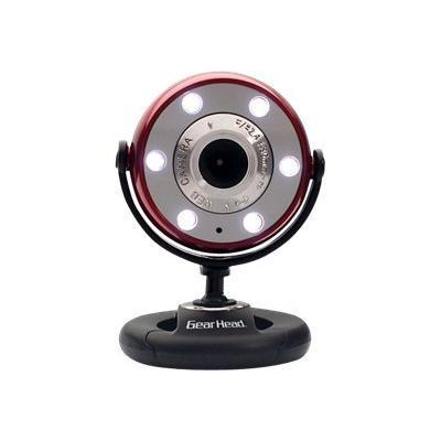 Gear Head Quick Webcam With Night Vision Wc1200red - Web