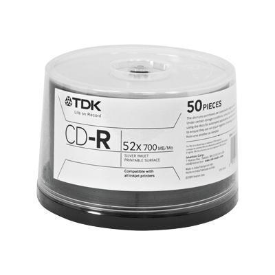 Tdk Cd-R X 50 - 700 Mb