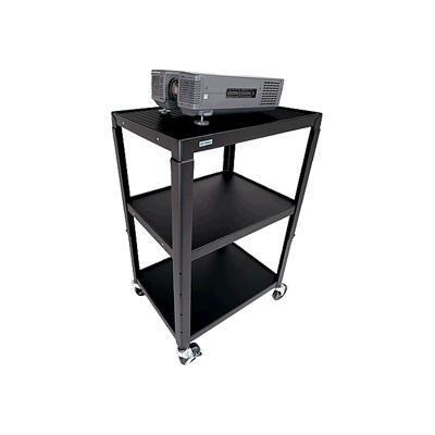 Bretford Manufacturing Basics Adjustable A/V Cart A2642-M4 -