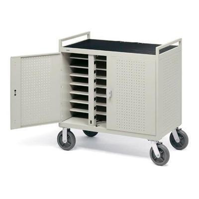 Bretford Manufacturing Laptop Storage And Recharge Cabinet Lap24efr-Gm - Cart