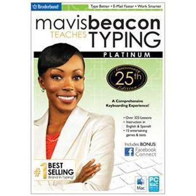 Encore Mavis Beacon Teaches Typing Platinum 25th Anniversary Edition