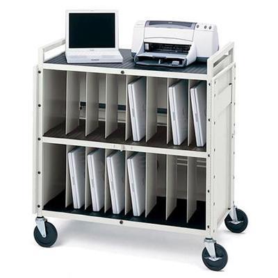 Bretford Manufacturing Basics Notebook Storage Cart Laptg15esa-Pt - And Battery