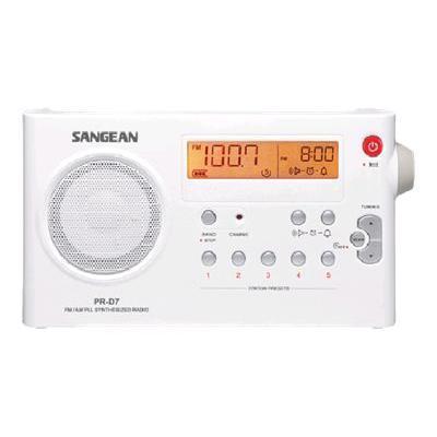 Sangean R-D7 - Clock Radio