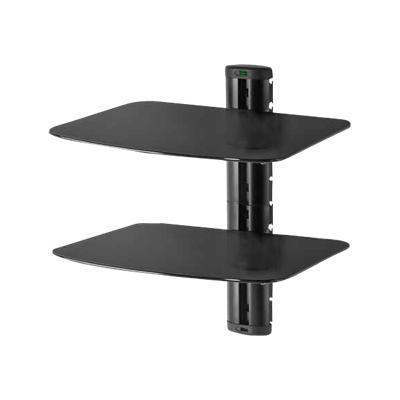 Peerless Dual Av Wall Shelf With Glass Eshv30-S1 - Mounting