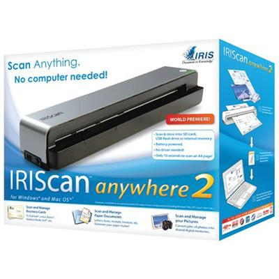 Iris Can Anywhere 2 - Sheetfed Scanner