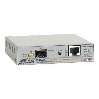 Allied Telesyn At Gs2002/Sp - Media Converter 10base-T 100base-Tx 1000base-T