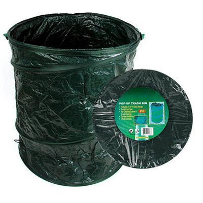 Gold Label Happy Camper Pop-Up Trash Bin - 22 Inch