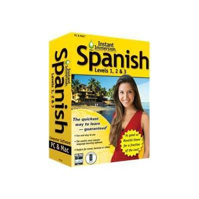 Topics Instant Immersion Spanish Levels 1 2 & 3 -
