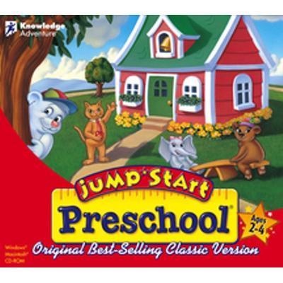 Knowledge Adventure Jumpstart Preschool Jewel Case Value Line