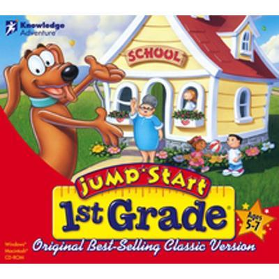 Knowledge Adventure Jumpstart 1st Grade Jewel Case Value Line