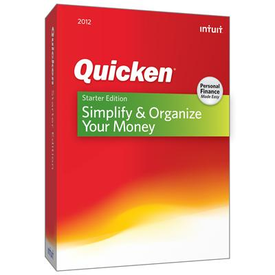 Intuit Quicken Starter Edition 2012 - Complete Package