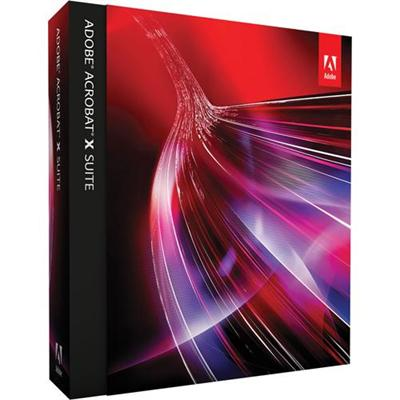 Adobe Acrobat X Suite - Product Upgrade Package