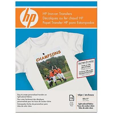 Hp Iron-On Transfers - 12 Pcs.
