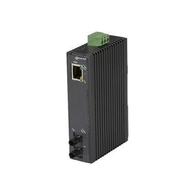 Black Box Hardened Mini Industrial Media Converter