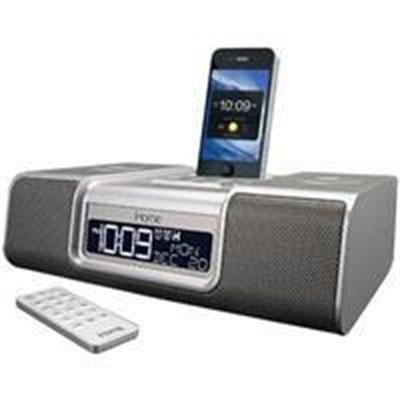 Ihome Enhanced Stereo Dual Alarm Clock Radio For Your Iphone/Ipod