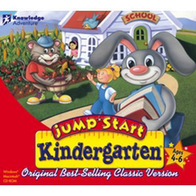 Knowledge Adventure Jumpstart Kindergarten - Jewel Case Value Line