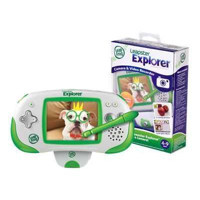 Leapfrog Leapster Explorer Camera And Video Recorder - Game Console