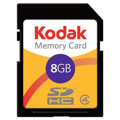 Lexar Media Kodak Flash Memory Card - 8 Gb Sdhc