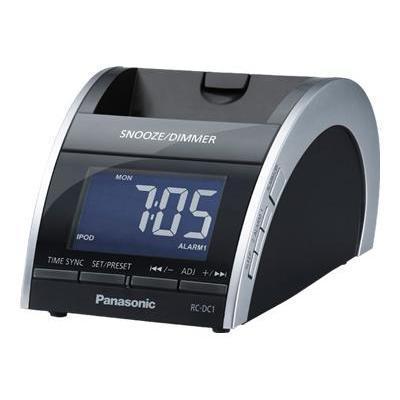 Panasonic Rc-Dc1 - Clock Radio With Apple Dock Cradle