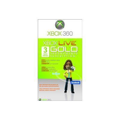 Microsoft Xbox Live Gold Membership - Subscription License