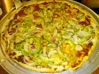 Want some? äVeneto's Special Pizza.