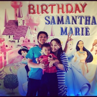 samantha's 1st birthday