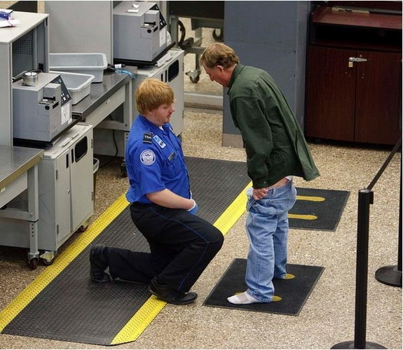 Airport security gone too far