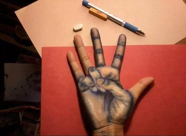 cool hand art