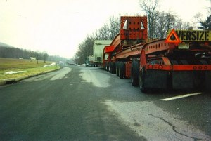 Branch Oversize load escorts image