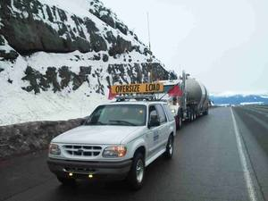 DTS Pilot Car Service for oversized load escorts / support image