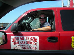 David from Lil' Reds Pilot Car Service in Alabama image