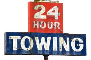 Reno Towing company open 24 hours a day! image