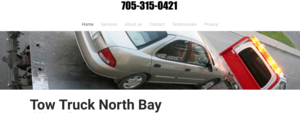 North Bay Ontario's Preferred Tow Truck Company image