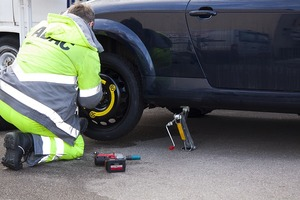 Centennial Towing Services Flat Tire Assistance image