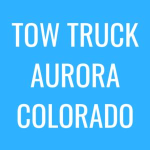 tow truck aurora image