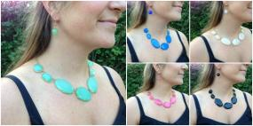 Statement Necklaces and Earring Set