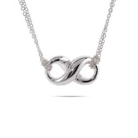 Tiffany Inspired Infinity Necklace