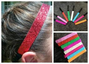 Sparkly Sports Headbands $3