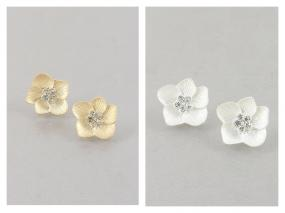 Kate Spade Inspired Flower Earrings