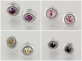 John Hardy Inspired Classic Stud Earrings