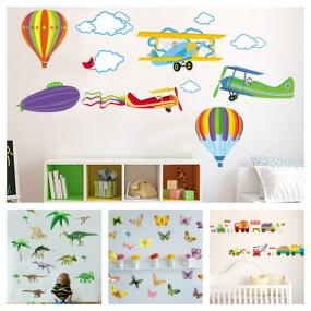 Whimsical Wall Art in Four Styles