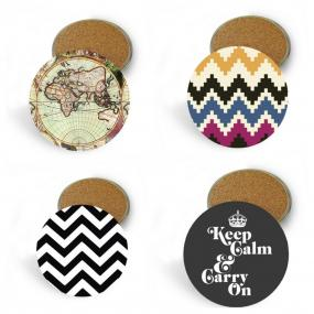 Set of 4 Coasters - Five Designs To Choose From!