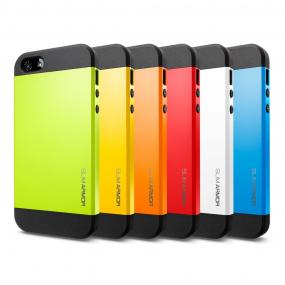 FREE SHIPPING.......Slim Armour for the New iPhone 5C for the Colorful!
