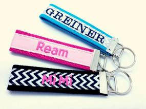 $10 Personalized Key Fob ....FREE SHIP